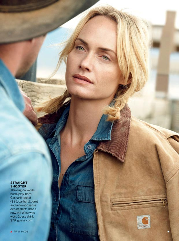 Amber Valletta jacket in Vogue Carhartt
