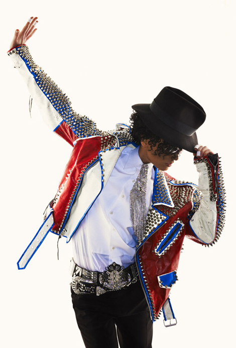 America s Next Top Model Michael Jackson theme photo shoot