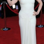 Amy Adams Herve Leroux white dress 2011 SAG Awards