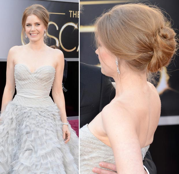 Amy Adams Oscars 2013 hairdo