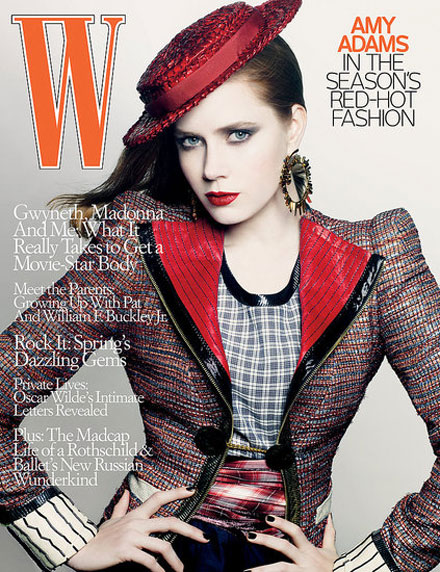 Amy Adams W Magazine May 09 cover