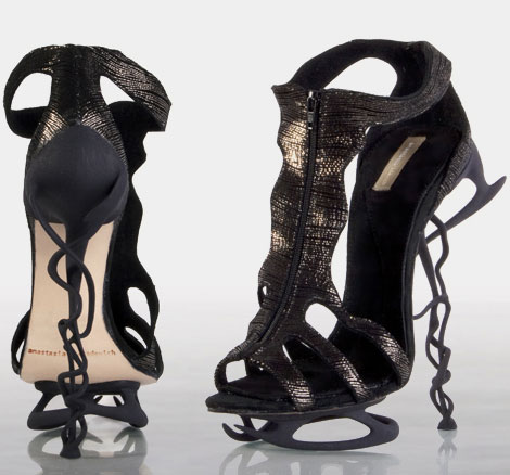 Dare To Wear The Amazing Shoes By Anastasia Radevich?