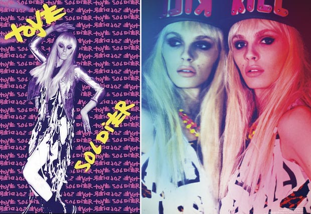 Andrej Pejic new fashion spread Galore Magazine