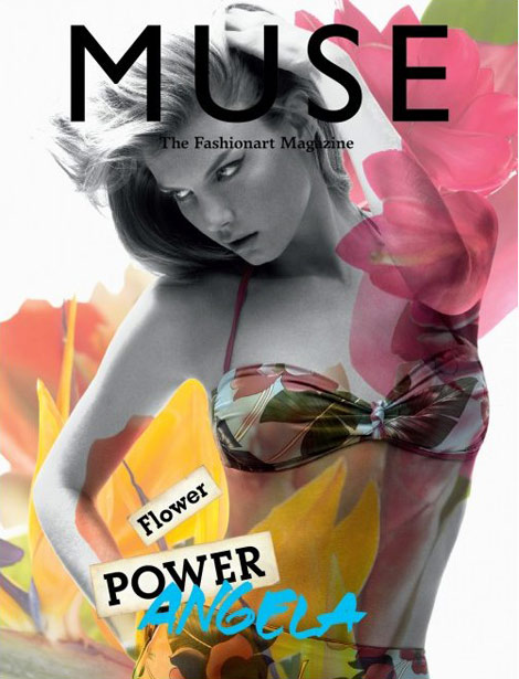 Isabeli Fontana Muse 22 summer 2010 cover
