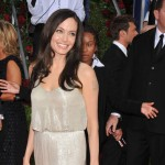 Angelina Jolie Atelier Versace dress Golden Globe Awards 2009 1