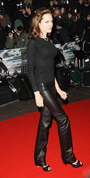 angelina jolie beowulf premiere london