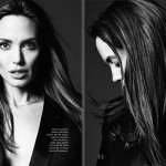 Angelina Jolie black and white photos Hedi Slimane