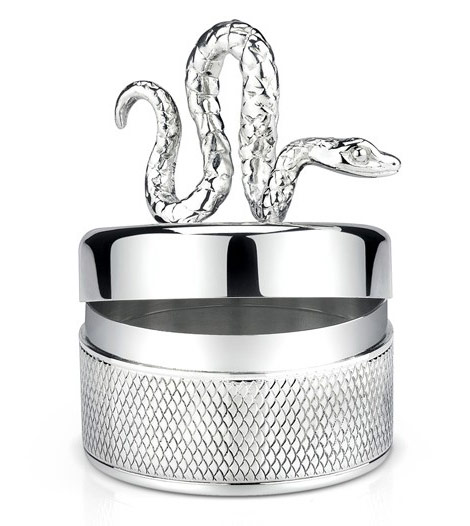 Angelina Jolie Brad Pitt Asprey Snake box