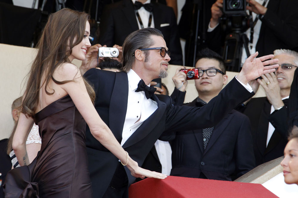 Angelina Jolie Brad Pitt Cannes 2011 Tree of Life 2