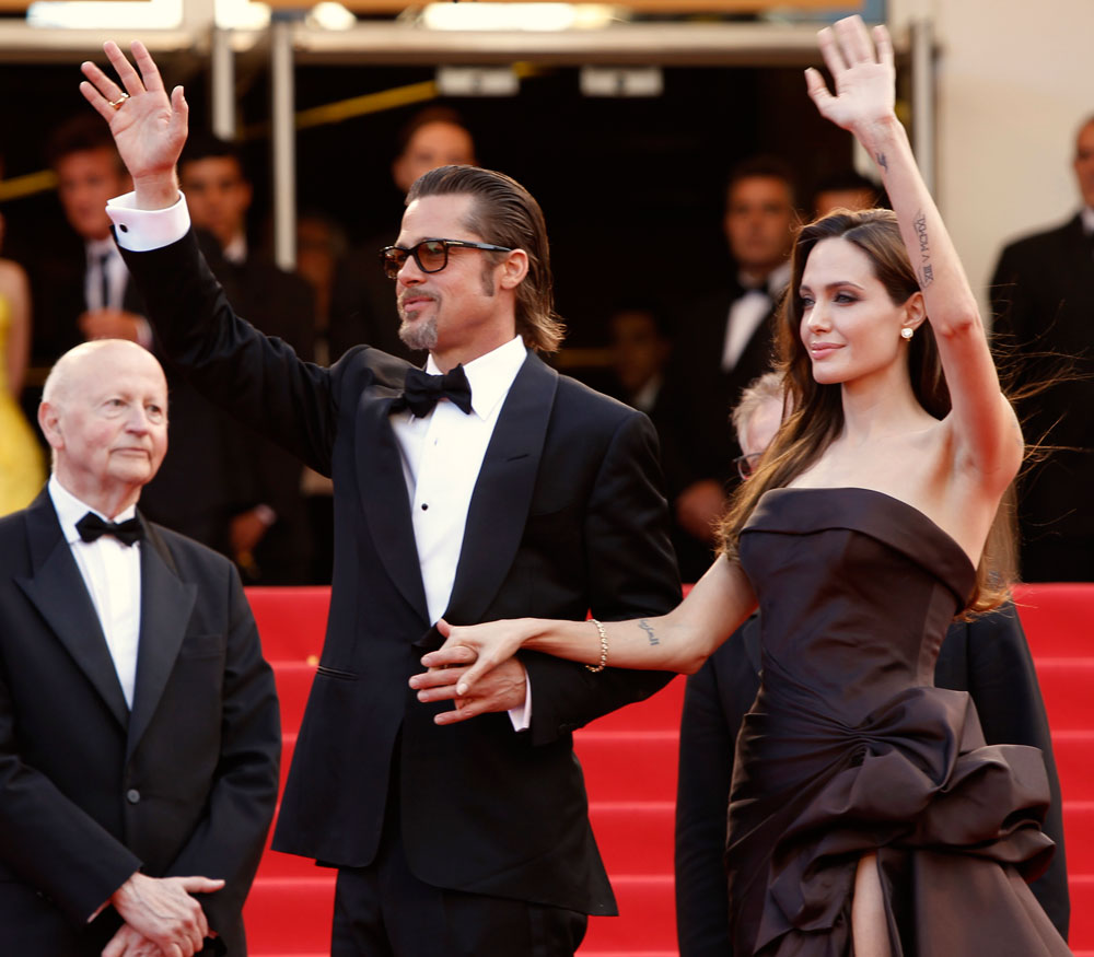 Angelina Jolie Brad Pitt Cannes 2011 Tree of Life 3