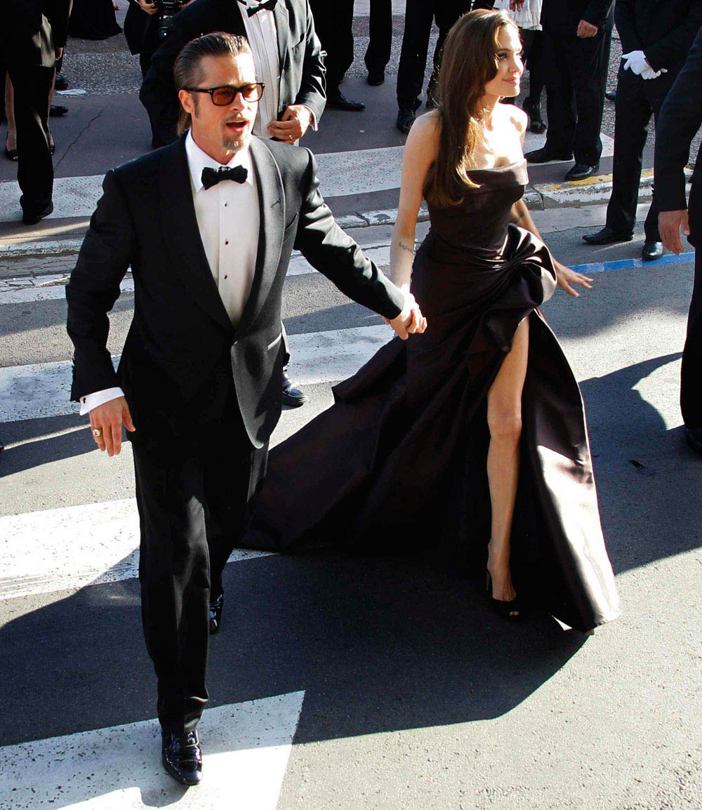 Angelina Jolie Brad Pitt Cannes 2011 Tree of Life 5