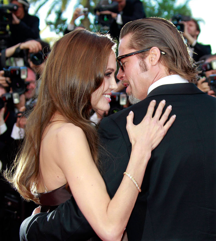 Angelina Jolie Brad Pitt Cannes 2011 Tree of Life 6