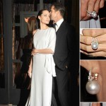 Angelina Jolie Brad Pitt Critics Choice Awards 2009 Mikimoto jewelry