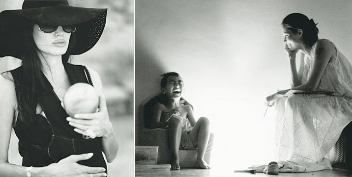 Angelina Jolie by Brad Pitt pictures from W Magazine November 2008 3