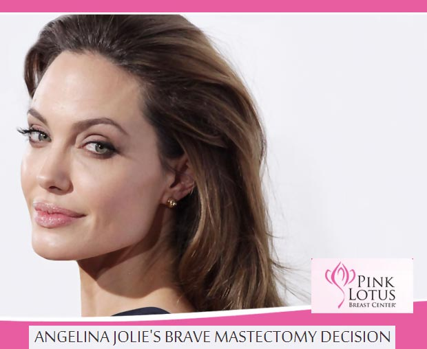 Angelina Jolie double mastectomy medical center