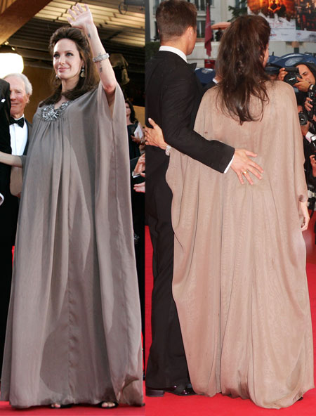 Angelina Jolie Dress For Changeling Premiere In Cannes