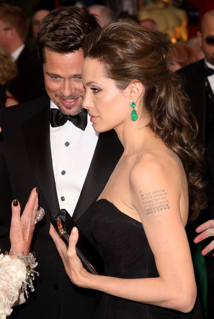 Angelina Jolie Elie Saab Dress Oscars 2009 6
