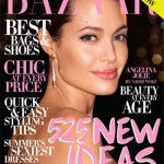 Angelina Jolie Harper s Bazaar July 2009 cover