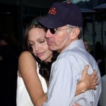 Angelina Jolie Hugging Billy Bob Thornton