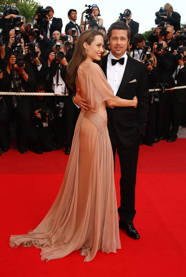 Angelina Jolie Inglorious Basterds Cannes 2009 1
