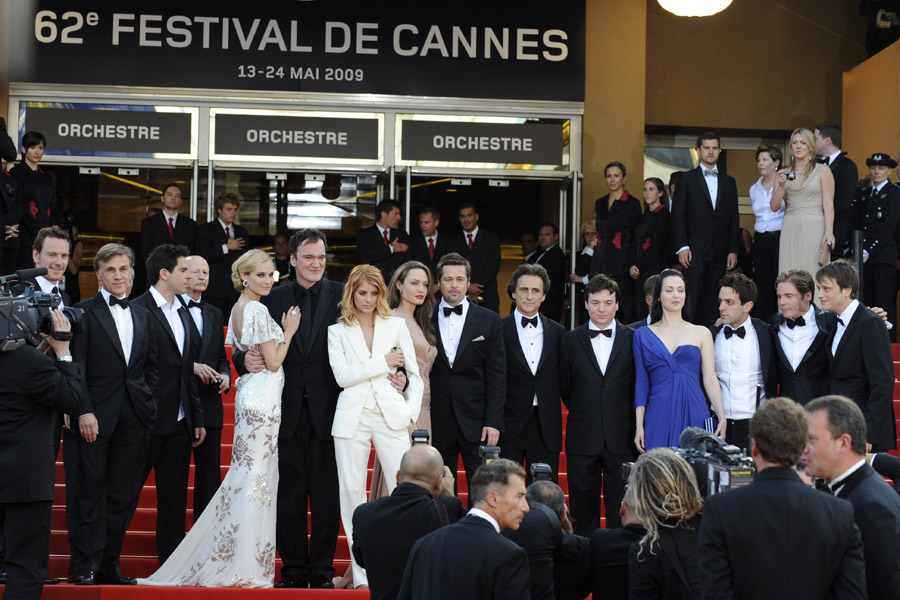 Angelina Jolie Inglorious Basterds Cannes 2009 5