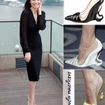 Angelina Jolie shoes Louboutin Maleficent special collection
