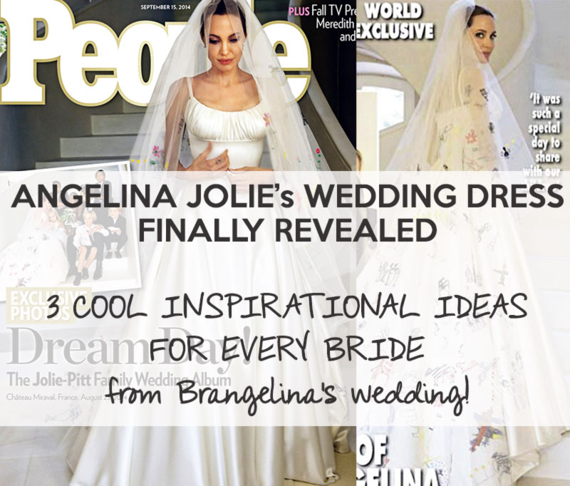 Angelina Jolie wedding dress - StyleFrizz | Photo Gallery
