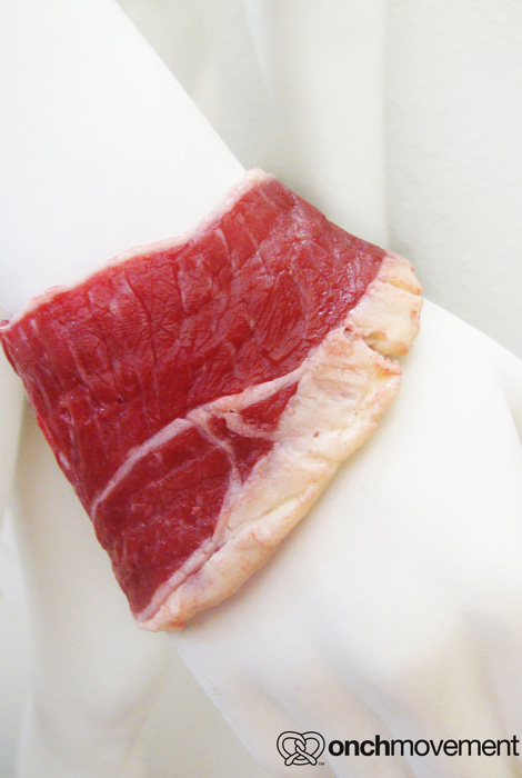 Animal Free Material Meat Cuff