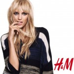 Anja Rubik H M warm 2010 collection campaign