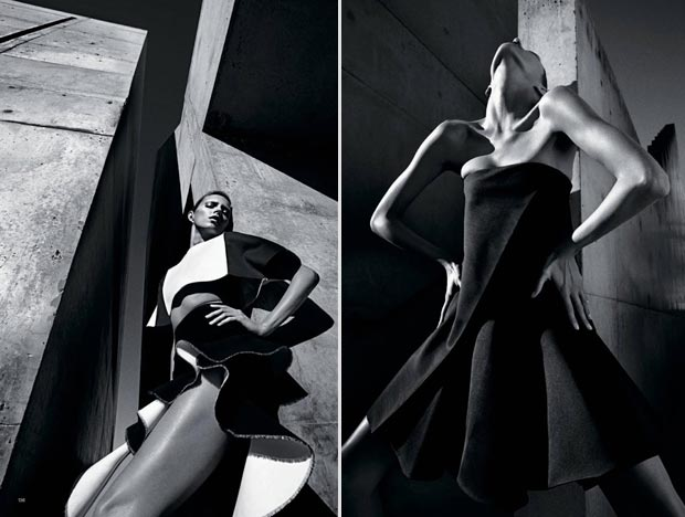 Anja Rubik by Mario Sorrenti NY Times T Magazine pictorial