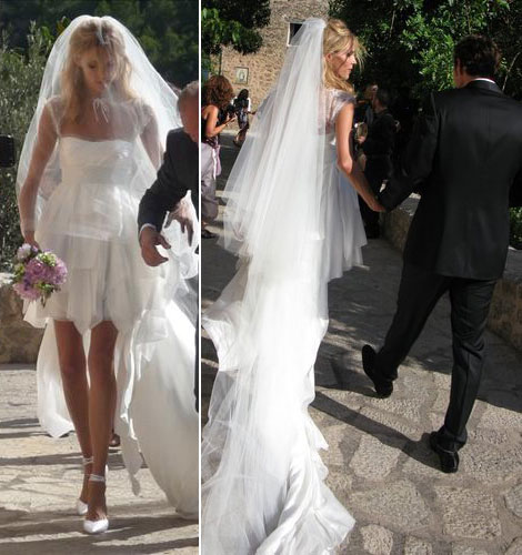 Anja Rubik Sasha Knezevic wedding