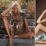 Anja Rubik Swimsuit Vogue Paris vs Vogue Spain