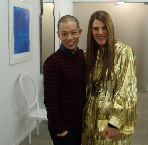 Anna Dello Russo's Golden Fashion Disaster
