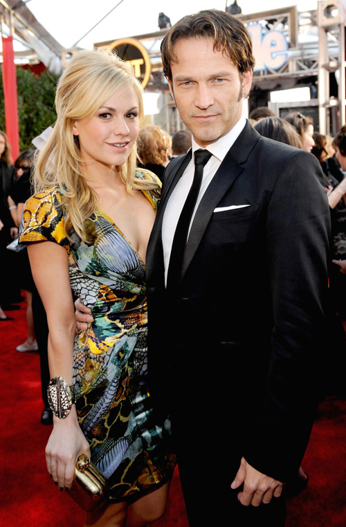 Anna Paquin Stephen Moyer 2010 SAG Awards 1