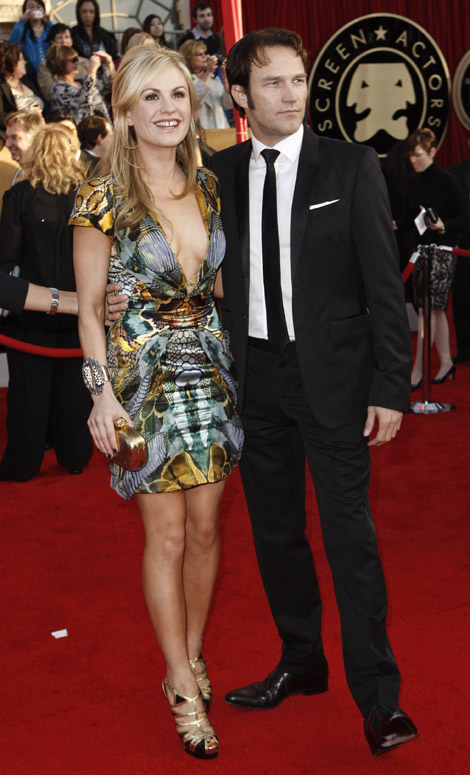 Anna Paquin Stephen Moyer 2010 SAG Awards