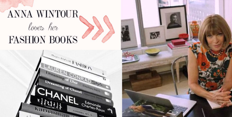 Anna Wintour Vogue Office fashion books