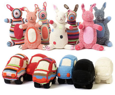 Anne Claire Petit Accessories Kangaroos and Cars