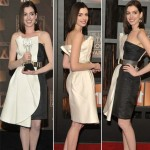Anne Hathaway Critics Choice Awards 2009 Gianfranco Ferre dress