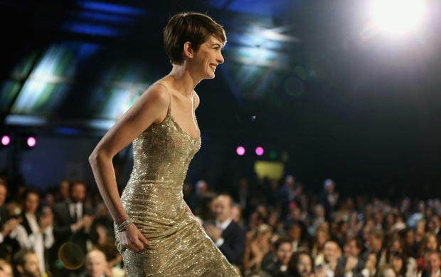 Anne Hathaway Critics Choice Awards 2013 winner