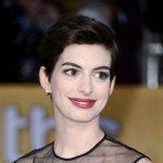 Anne Hathaway hair makeup 2013 SAG Awards