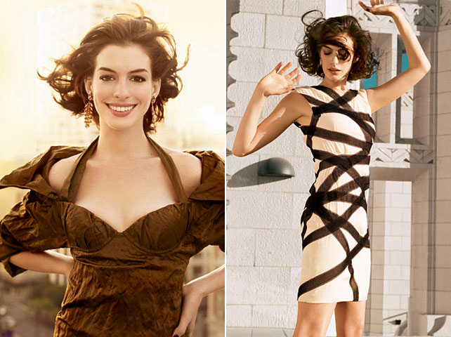 Anne Hathaway Does Vogue January 2009