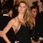 Anthony Vaccarello dress on Gisele Bundchen at Met Gala