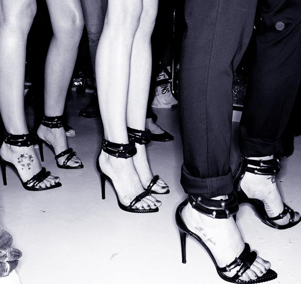 Anthony Vaccarello Spring Summer 2014 Stella Luna sandals