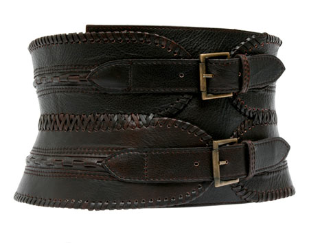 Antik Batik Leather Buckle Belt