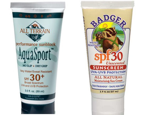 Aquasport Badger sunscreen