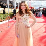 Ariel Winter peachy dress 2013 SAG Awards