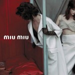 Arizona Muse Miu Miu Spring 2013 campaign
