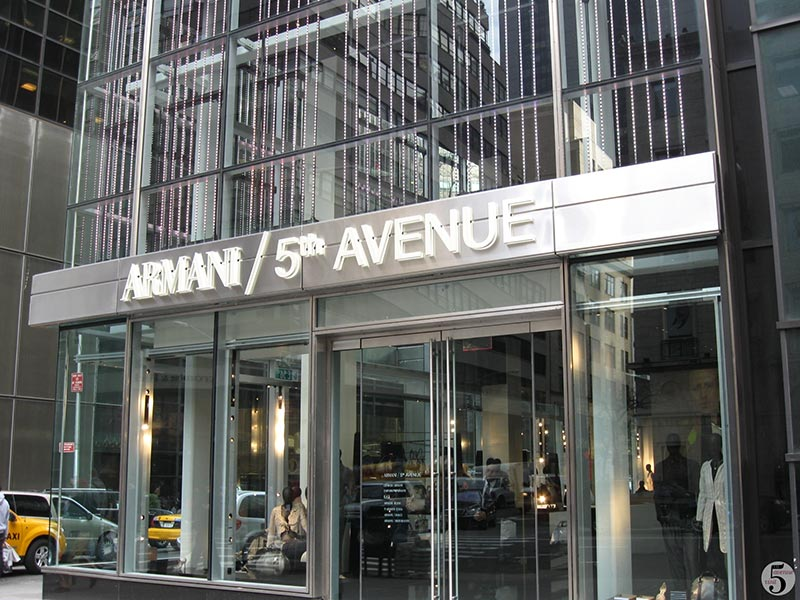 armani fifth avenue store 3