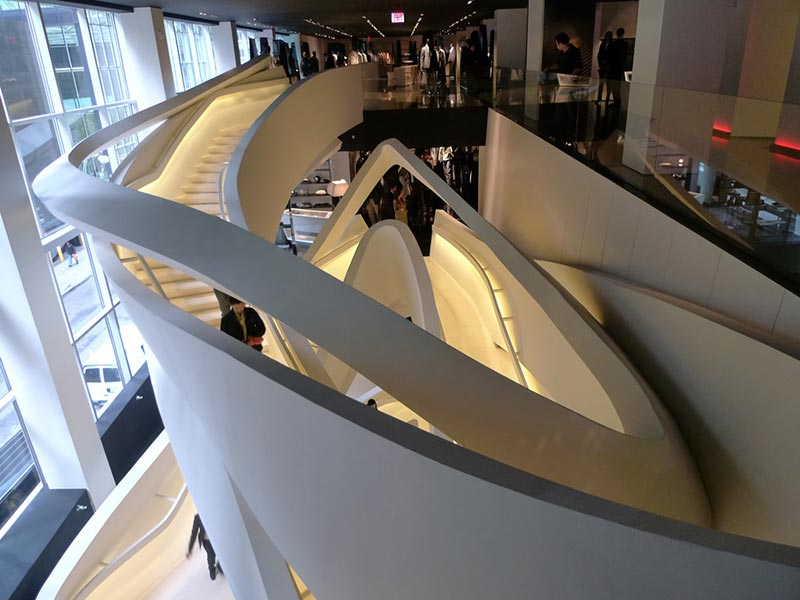 armani fifth avenue store stairs 1