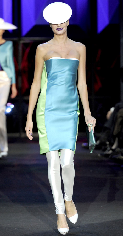 Armani Prive Haute Couture Spring Summer 2011 Fashion Show